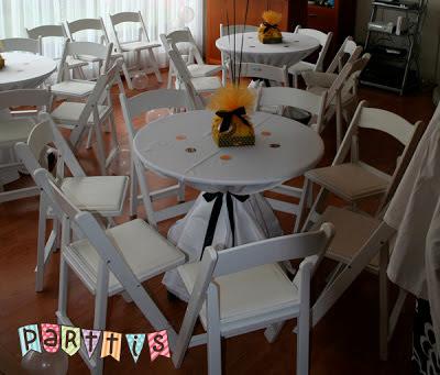 Renta de sillas y mesas para eventos