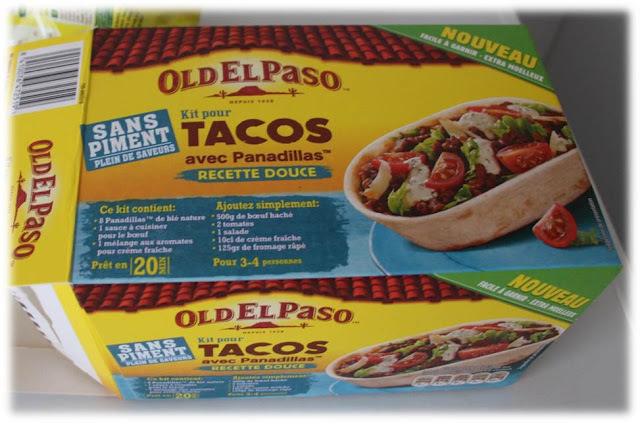 Test de produit 1 : Kit pour tacos avec panadillas OldElpaso