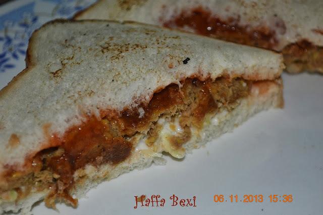 Mayo Kebab Sandwich