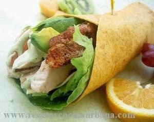 Wrap, la comida rápida y nutritiva