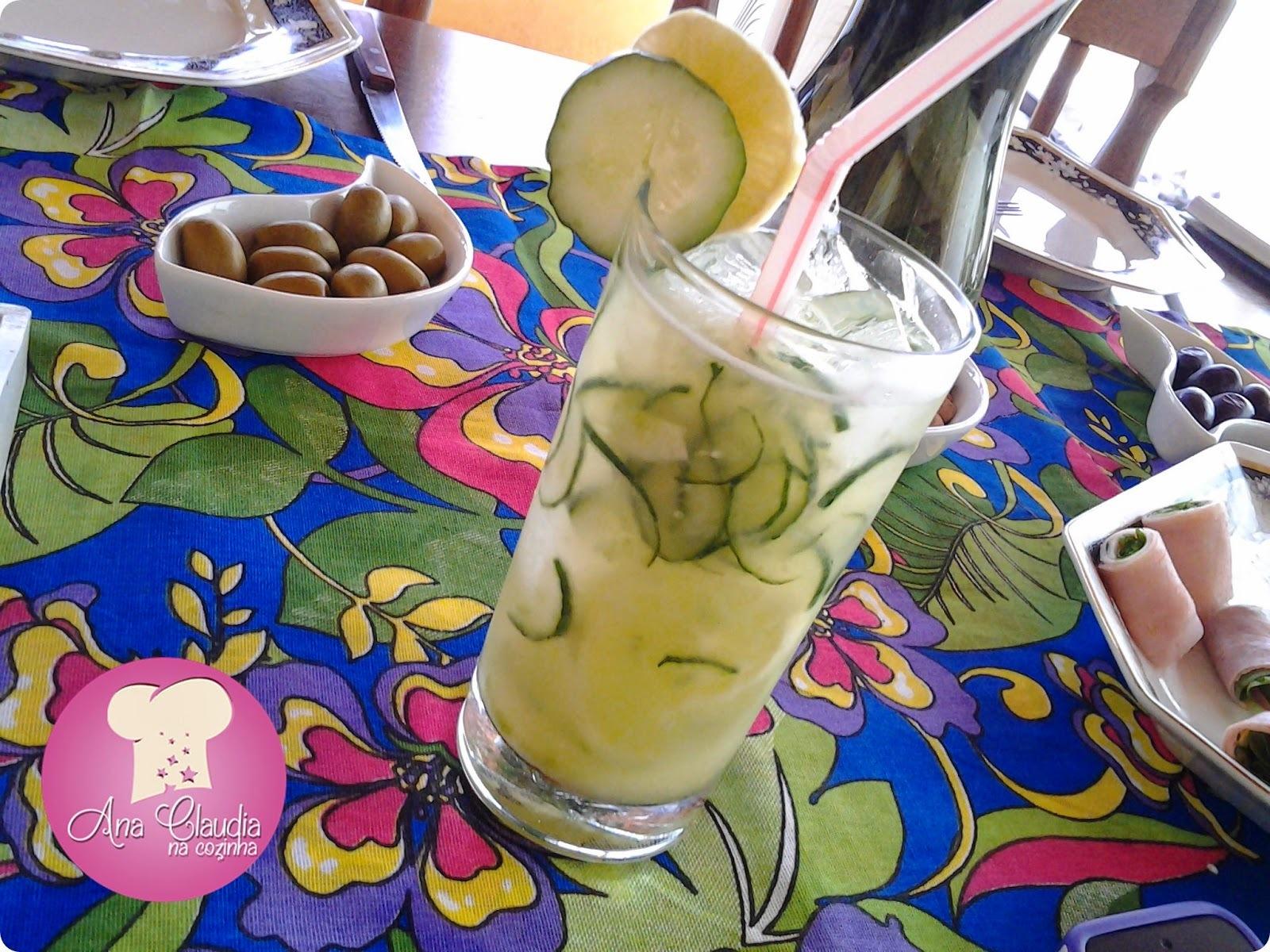 Sakerita de Pepino e Limão