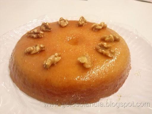 Pudin rápido de galleta (microondas) ,  receta casera