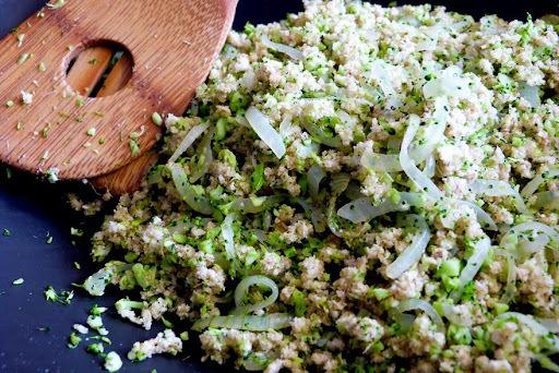 Receita: farofa de brócolis ninja