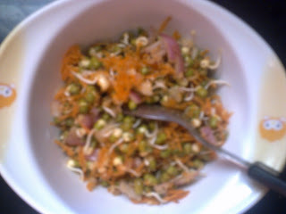 Green  spourts  salad