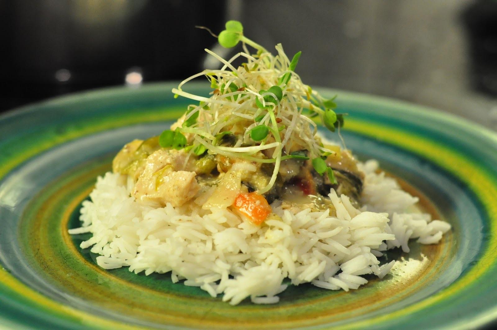 Arroz + Pollo + Especias