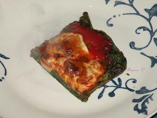 Pizza de espinaca