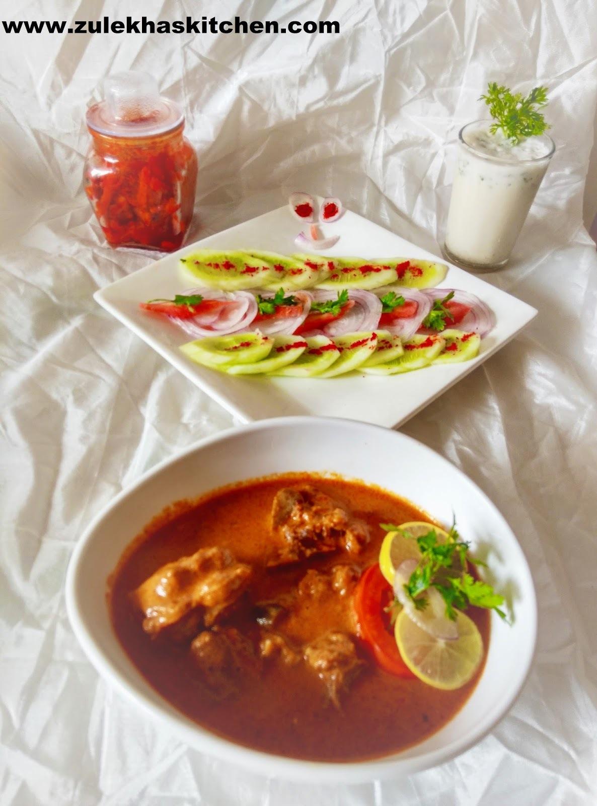 Recipe of shahi mutton korma