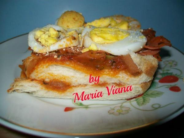 Sanduiche de forno: Maria Viana