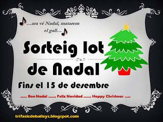 http://trifasicdebaileys.blogspot.com  fa un sorteig de Nadal