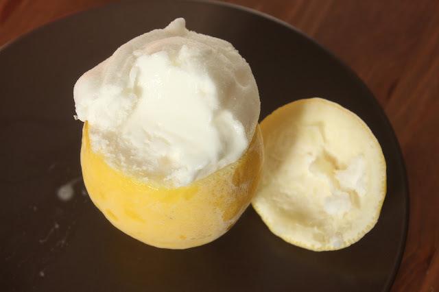 Citron givré : le petit jaune au coeur tendre !