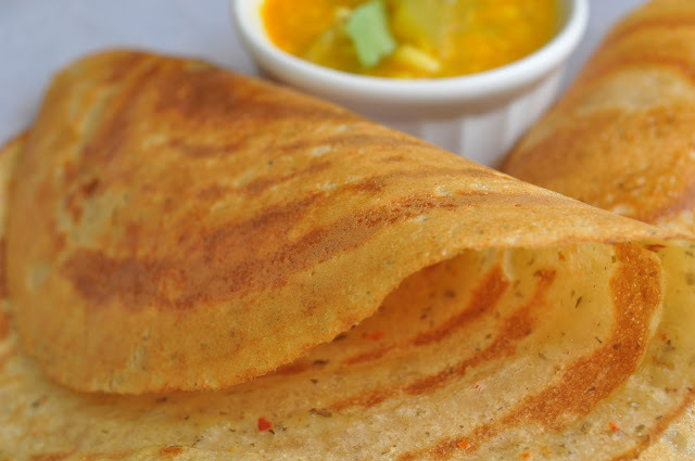 Mixed Dal Dosa (Adai)