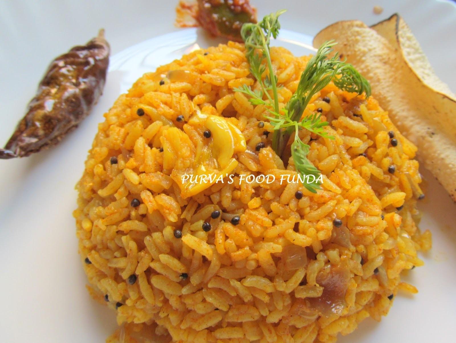 Phodnicha Bhat (Maharastrian Fried Rice)
