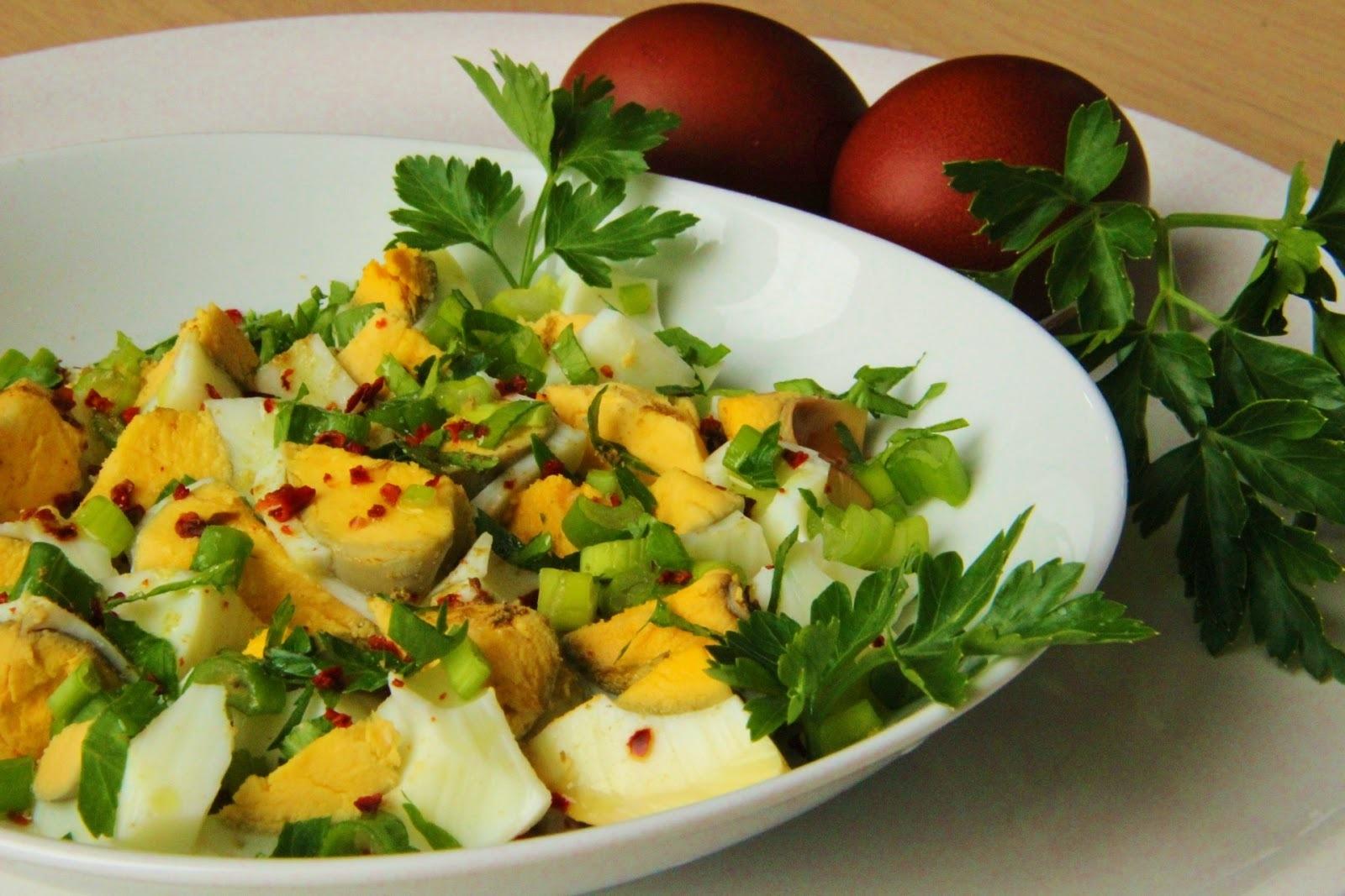 Turecký vajíčkový salát ( Yumurta piyazi )