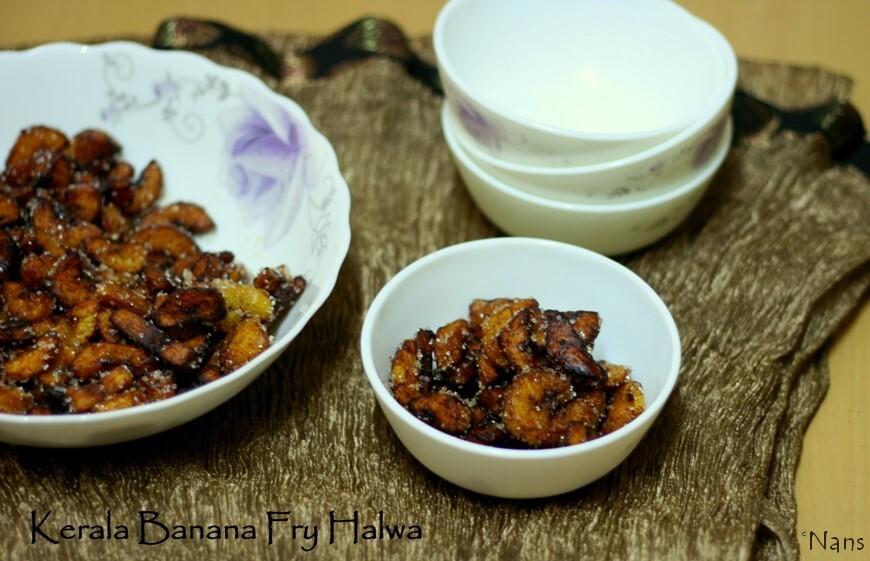 Kerala Banana Fry Halwa | Nandarbale Kela Thalolo Halwo | Konkani Dessert