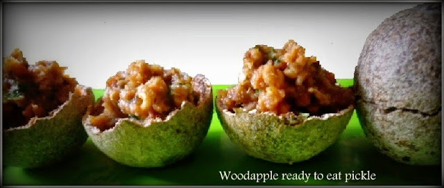 Wood apple relish