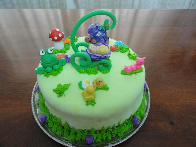 Un bosque encantado. Mi mejor torta.
