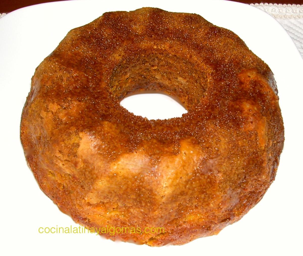 torta 1 2 3 4 sin crema en microondas