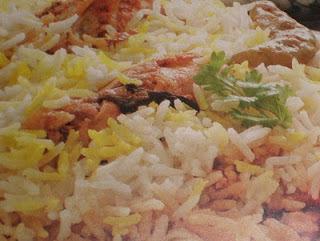Hyderabadi Biryani (chicken) recipe