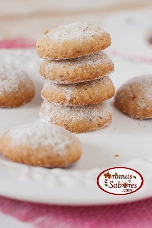 Biscoitos de amêndoas crocantes