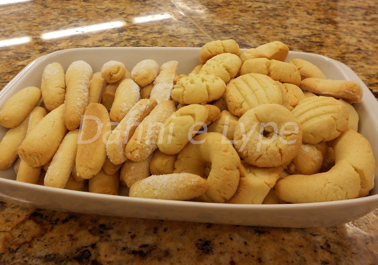 biscoito de polvilho doce e trigo assado