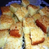 Receita de bolo de macaxeira (mandioca)