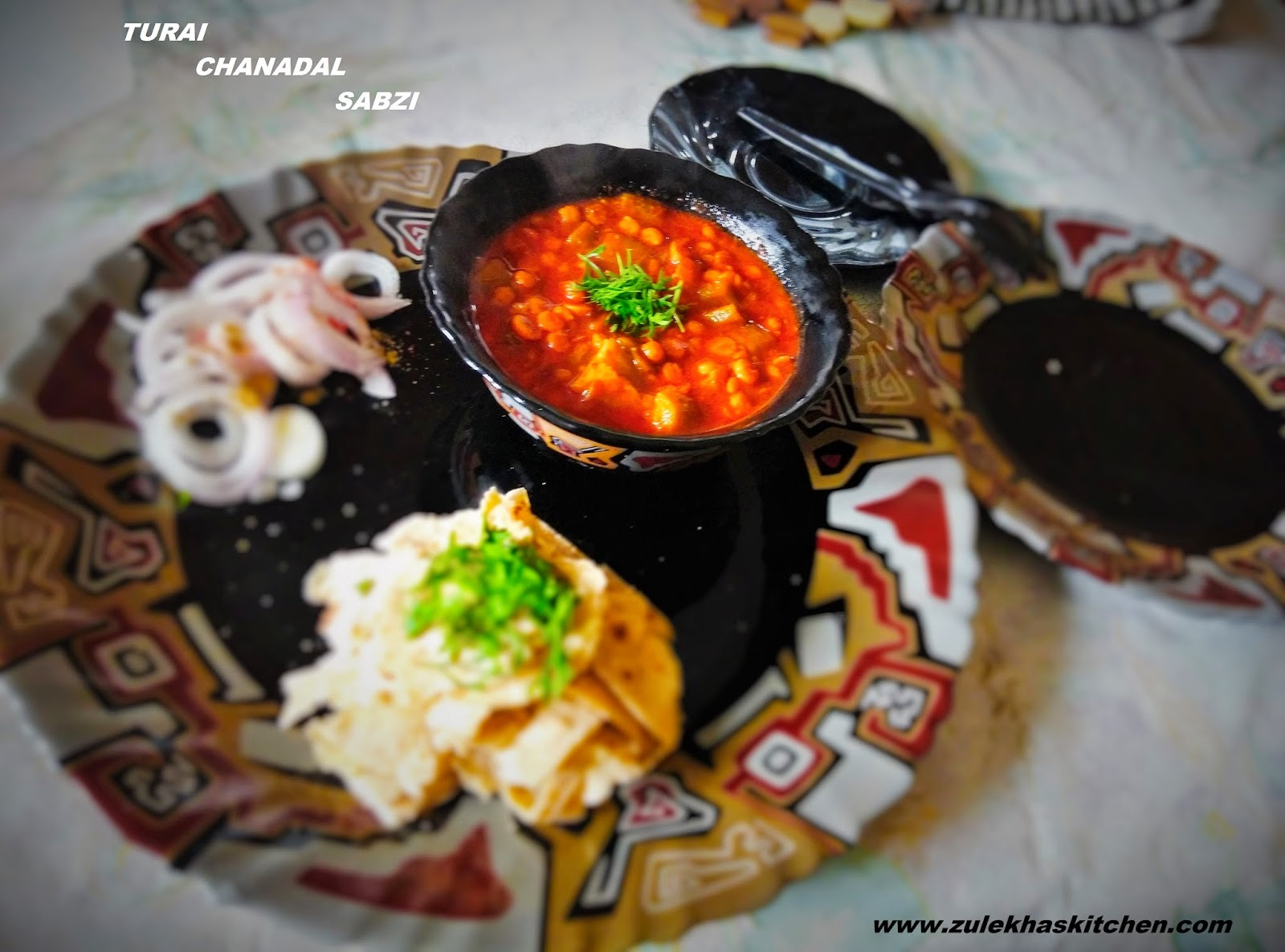 Recipe of Turai Chanadal sabzi