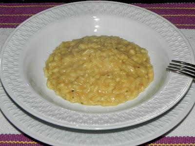 Risoto de Pasta de Amendoim