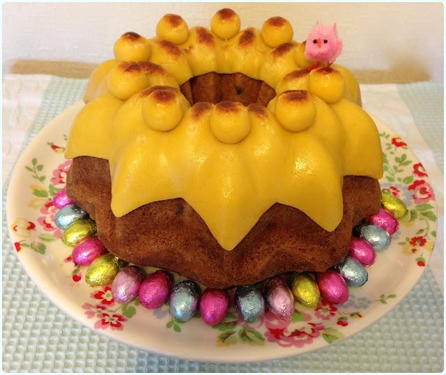 Easter Simnel Bundt Cake