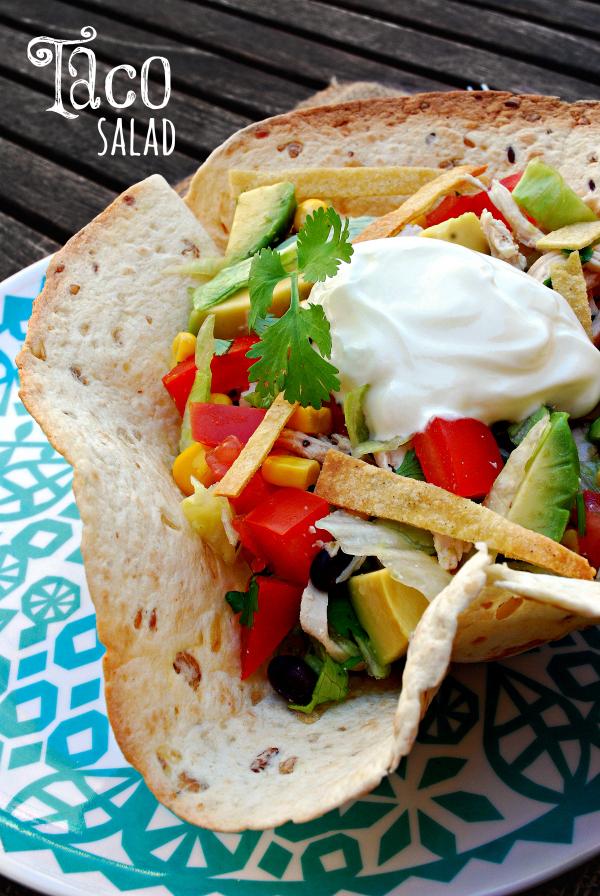 taco salad #ponunaensalada
