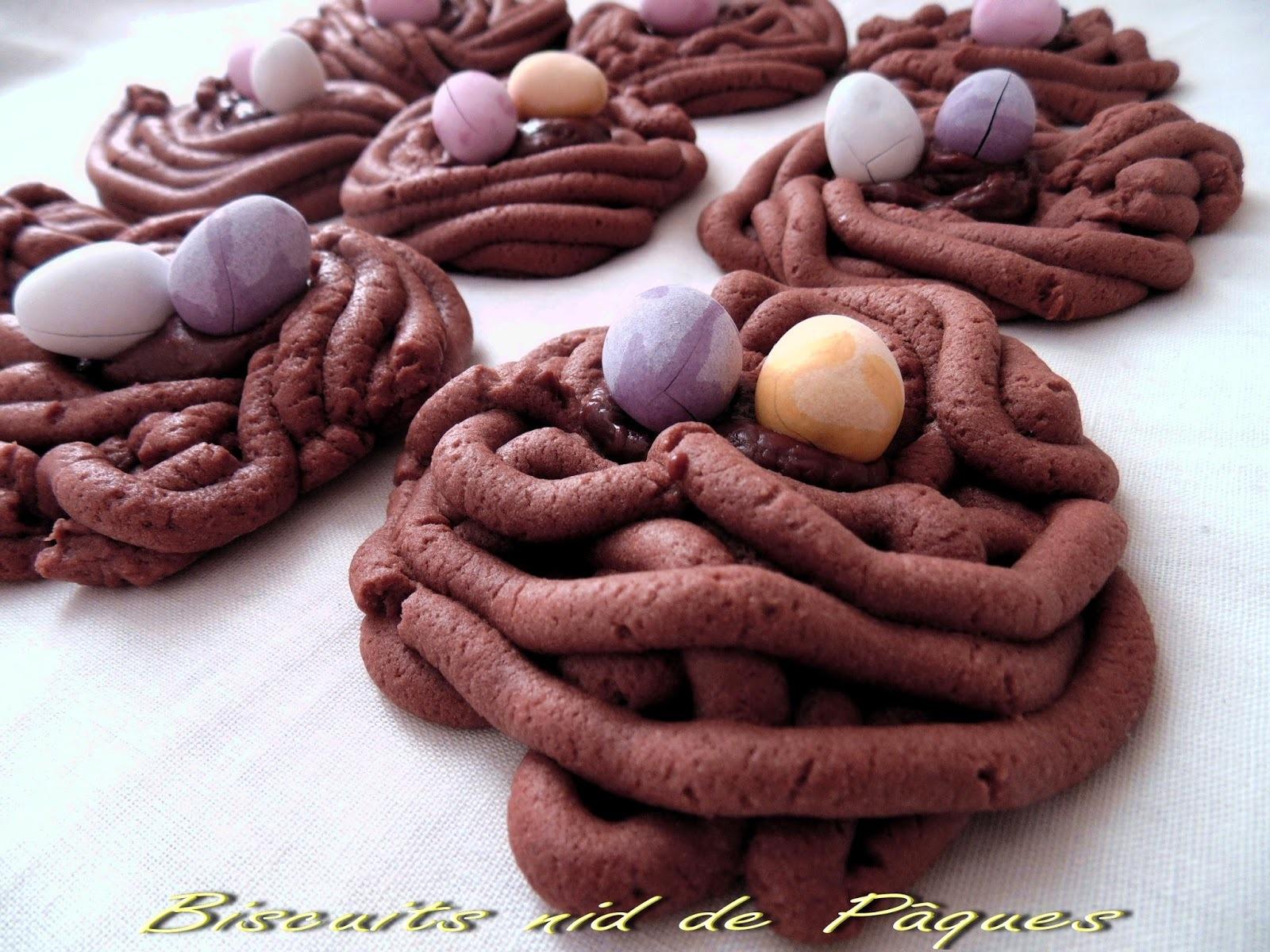Biscuits nid de Pâques