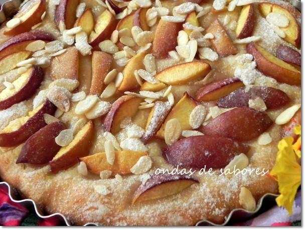 Torta de Nectarina