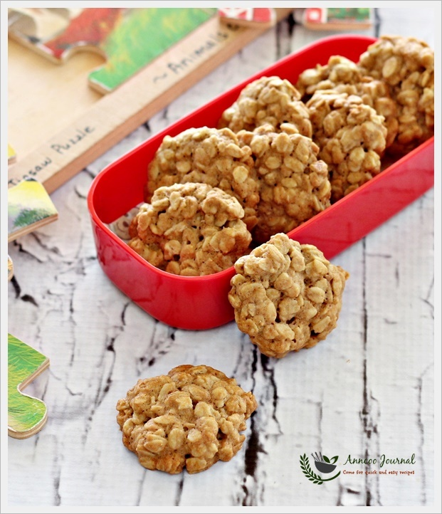 Rolled Oats Biscuits 燕麦饼干