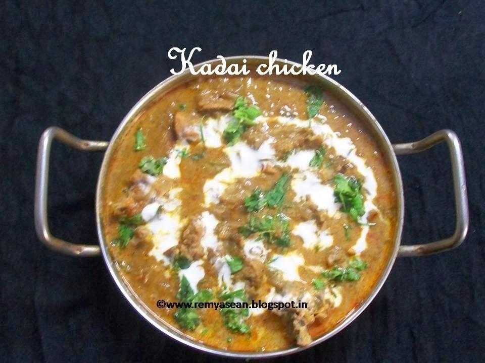 Kadai chicken