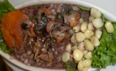 Ceviche de conchas al kion