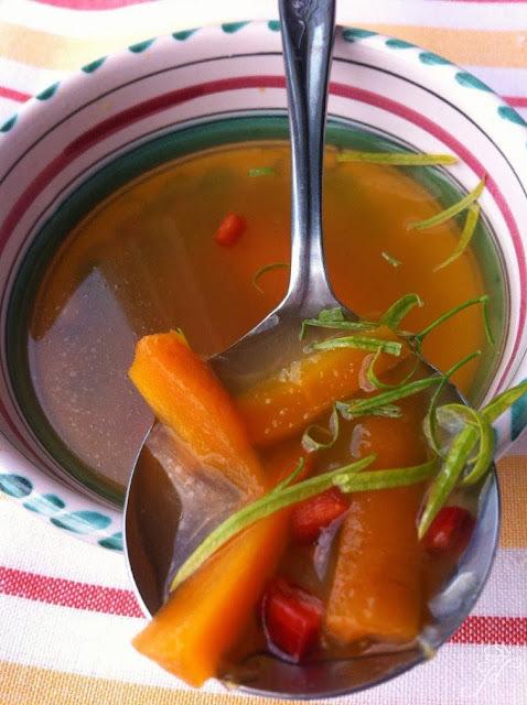 Povrtna juha sa zelenim rajčicama