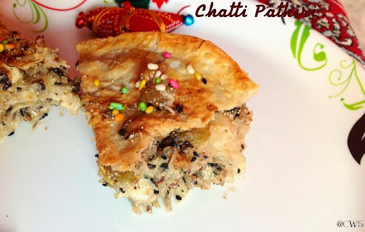 Chatti Pathiri ~A Keralan Delicacy