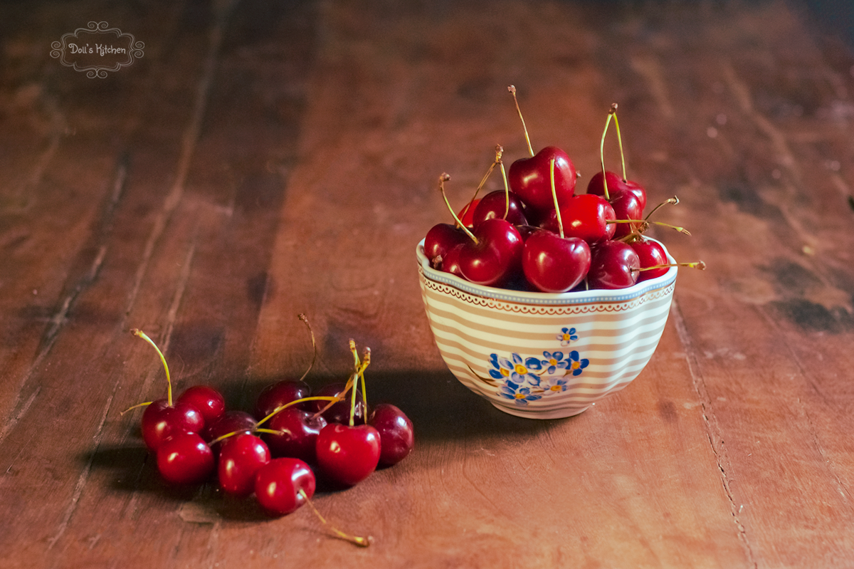 Torta de cereza hundida (Versunkener Kirschkuchen)