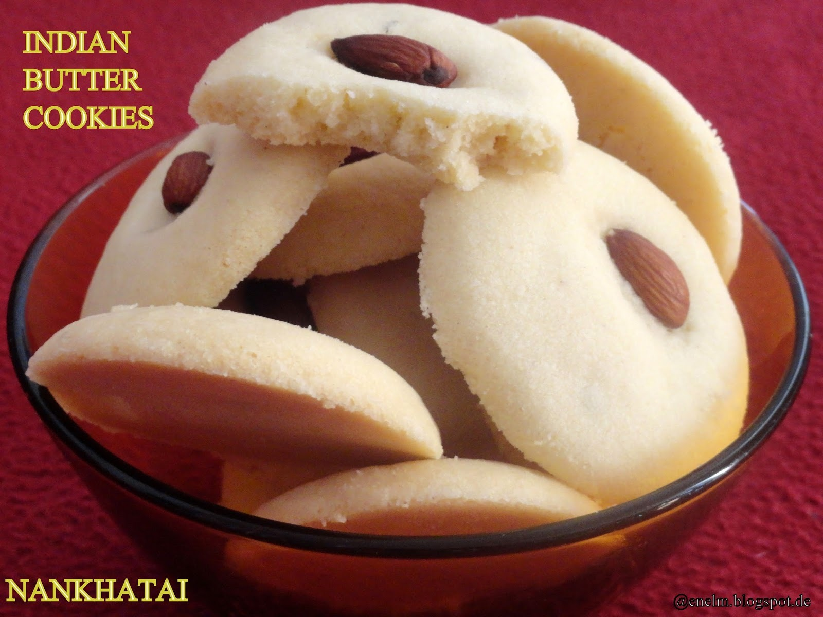 Indian Butter Cookies/Nankhatai