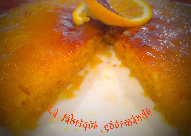 Gâteau Marocaine Aux Agrumes
