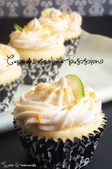 Cupcakes lime-passion