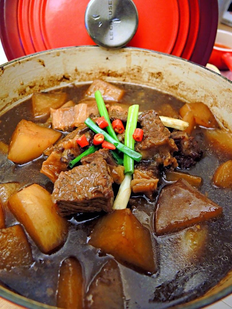 柱候炆牛腩 Chinese Beef Stew