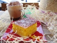 bolo de milho verde com queijo tipo pamonha
