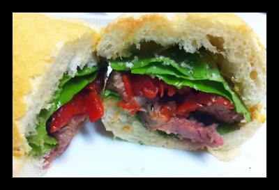 Steak Sarnie - Sanduíche do Jamie Oliver !!!