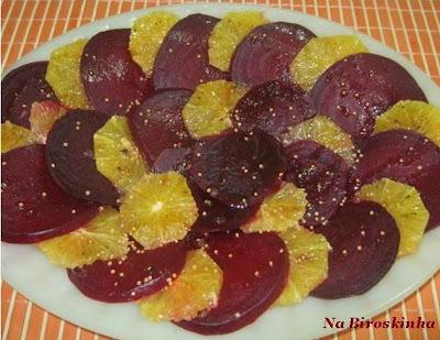 Salada de Beterraba com Laranja