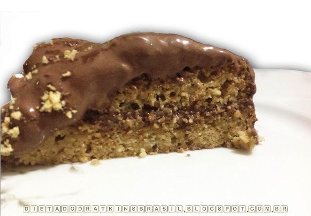 Bolo de Amendoim: dia de festa com poucos carboidratos!!!