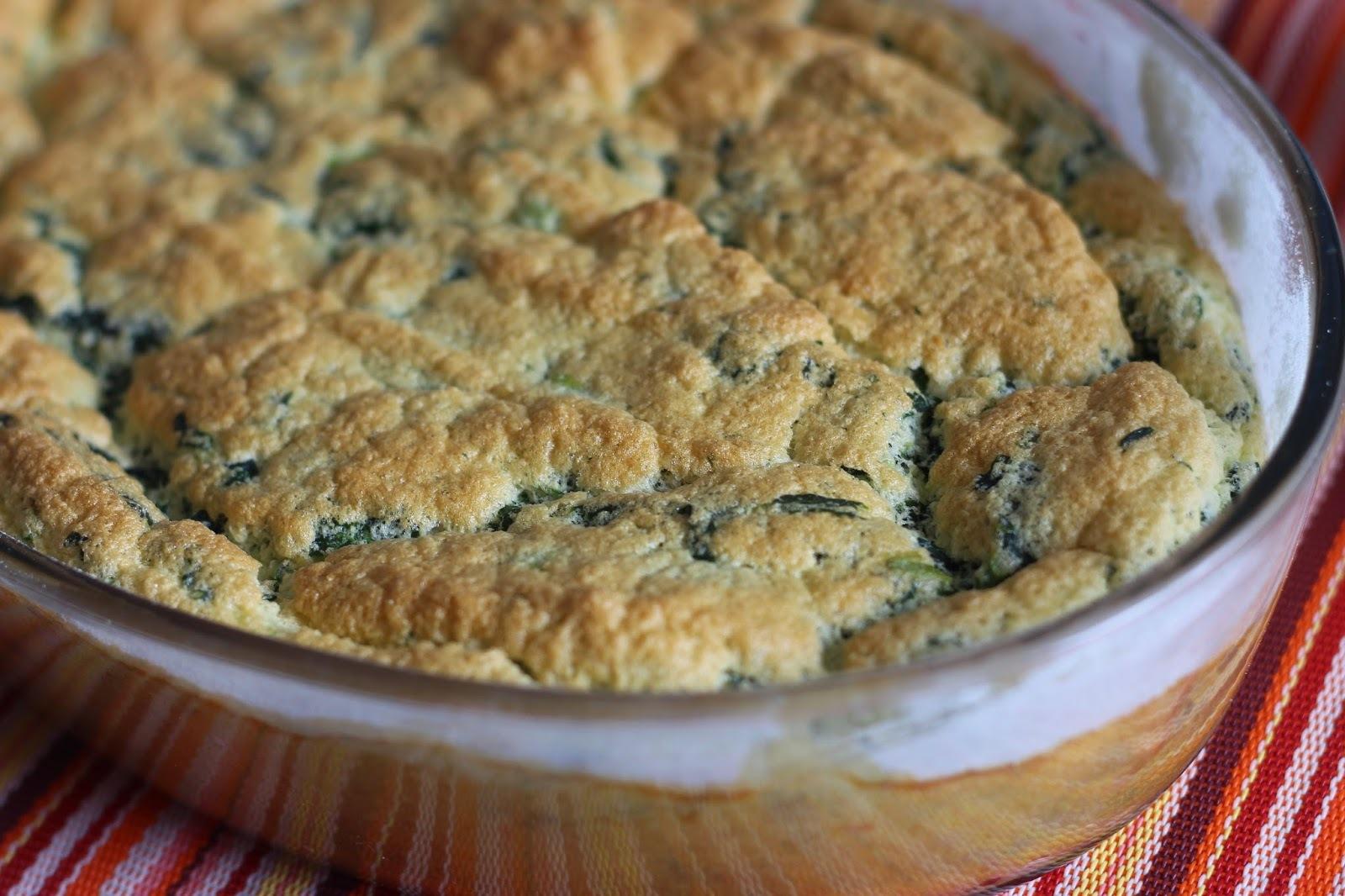 Suflê de espinafre #glutenfree #lactofree