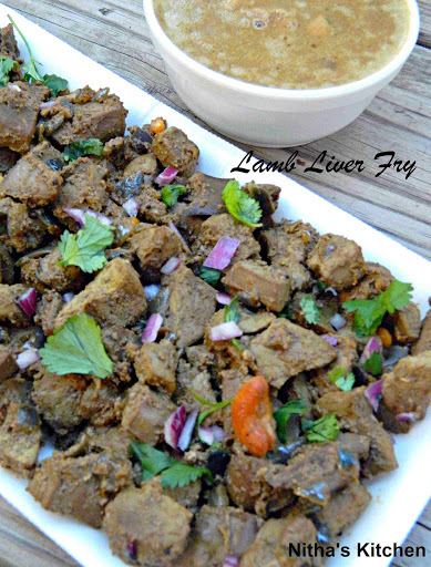 Goat | Lamb | Mutton Liver Fry