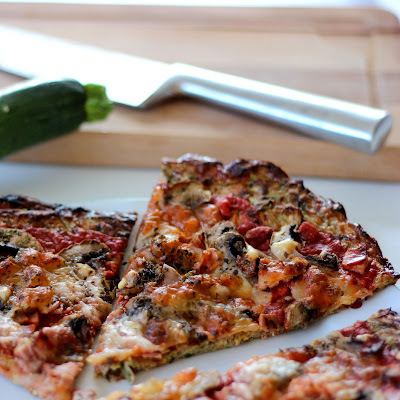 Pizza Originale : la Courgette Crust Pizza