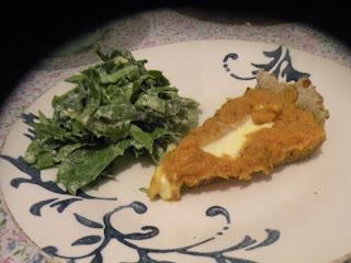Tarta integral de calabaza, zanahoria y queso