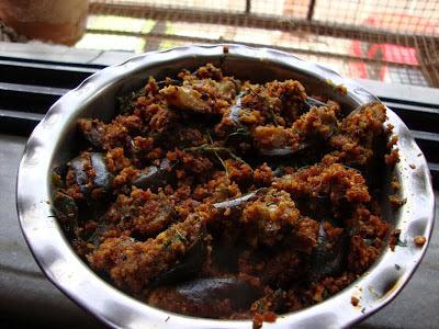 Kathiri kai podi curry [ tamil nadu ]